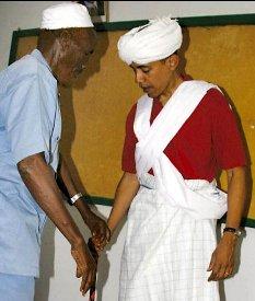 obama in muslim dress