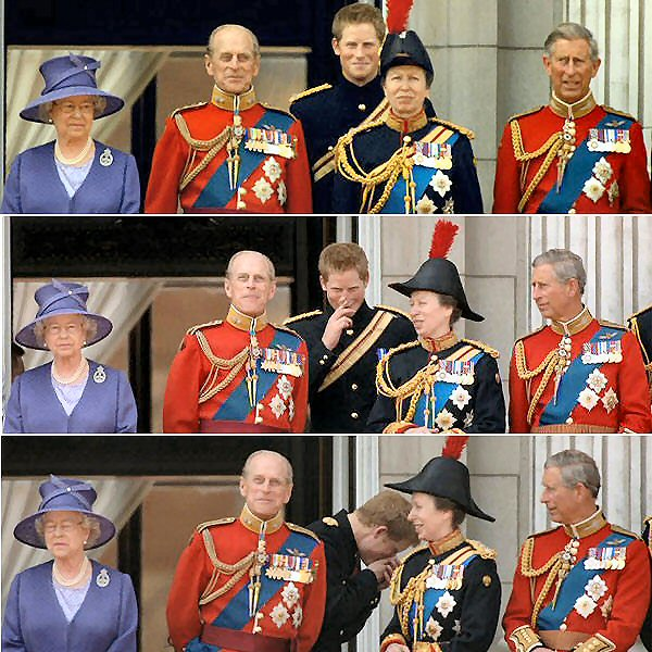 Did Philip make a royal fart?