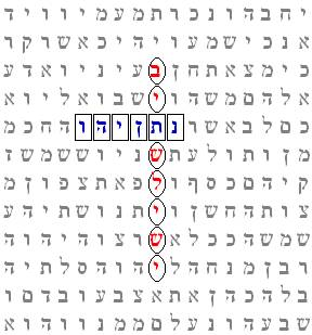 third temple bible code